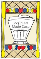Cover for 'IceCream Made Easy'