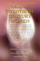 Cover for 'Talking with Twentieth-Century Women'