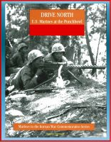 Cover for 'Marines in the Korean War Commemorative Series: Drive North - U.S. Marines at the Punchbowl'