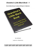 Cover for 'Grandma's Little Black Book - How to Make Money Freelance Writing for Textbroker'