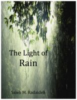 Cover for 'The Light of Rain'