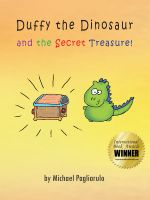 Cover for 'Duffy the Dinosaur and the Secret Treasure!'