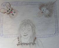 Natalie J Sanchez Natalie J Angel - Caylin And Tickle The Porcupine