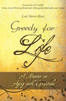 Cover for 'Greedy for Life: A Memoir on Aging with Gratitude'