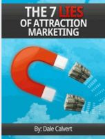 Cover for 'The 7 Lies of Attraction Marketing'