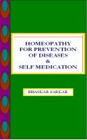 Cover for 'Heomeopathy for Prevention of Diseases and Self Medication'
