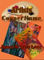 Cover for 'The Artists of the Copperflame Gallery'
