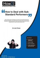 Cover for 'How to Deal with Sub-Standard Performers'