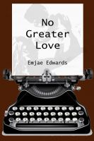 Cover for 'No Greater Love'