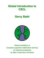 Cover for 'Global Introduction to CSCL'