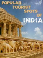 Cover for 'POPULAR TOURIST SPOTS OF INDIA'