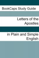 Cover for 'The Letters of the Apostles In Plain and Simple English'