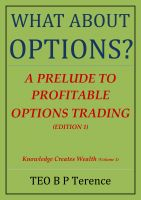 Cover for 'What About Options? - A Prelude to Profitable Options Trading'