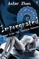 Cover for 'Impregnated (tentacle monster erotica)'