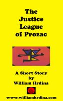 Cover for 'The Justice League of Prozac'