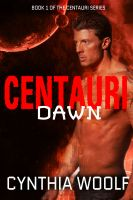 Cover for 'Centauri Dawn, a sci-fi romance'