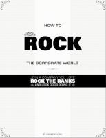 Cover for 'How To Rock the Corporate World: Join a Company You Love, Rock the Ranks, and Look Good Doing It'