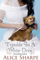 Cover for 'Trouble in a White Dress'