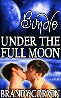 Cover for 'Under the Full Moon Series Bundle: 3 Steamy Gay Werewolf Shorts + 1 Bonus Story By Luna Loupe!'