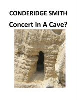 Cover for 'Concert in A Cave?'