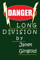Cover for 'Danger: Long Division'