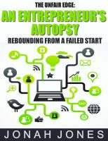 Cover for 'An Entrepreneur's Autopsy: Rebounding From A Failed Start'