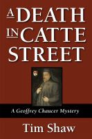 Cover for 'A Death in Catte Street'