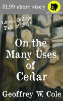 Cover for 'On the Many Uses of Cedar'