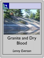 Cover for 'Granite and Dry Blood'