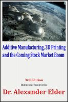 Cover for 'Additive Manufacturing, 3D Printing, and the Coming Stock Market Boom'