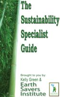 Cover for 'Sustainability Specialist Guide'