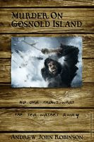 Cover for 'Murder on Gosnold Island'