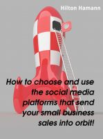 Cover for 'How to choose and use the social media platforms that send your  small business sales into orbit!'
