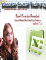 Cover for 'Excel Formulas Revealed - Master 77 of the Most Useful formulas in Microsoft Excel - Get it now!'