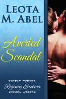 Cover for 'Averted Scandal (The Erotic Education of a Naughty Miss - Regency Erotica)'