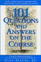 Cover for '101 Questions and Answers on A Course in Miracles'