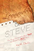 Cover for 'Leonardo and Steve: The Young Genius Who Beat Apple to Market by 800 Years'