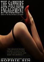 Cover for 'Millionaires Club #4: The Sapphire Engagement (Erotica)'
