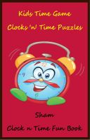 Cover for 'Kids Time Game : Clock 'n' Time Puzzles'