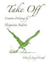 Cover for 'Take Off: Creative Writing by Hungarian Students'