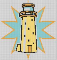 Cover for 'Lighthouse 17 Cross Stitch Pattern'