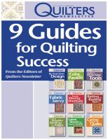 Cover for '9 Guides for Quilting Success'