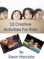Cover for '10 Creative Activities for Kids'