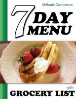 Cover for '7 Day Menu with Grocery List'