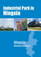 Cover for 'Industrial Parks in Ningxia'