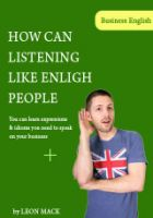 Cover for 'How can listening like english people'