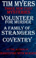 New Cozy Mystery Bundle (3 new mysteries from Tim Myers) cover