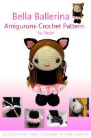 Cover for 'Bella Ballerina Amigurumi Crochet Pattern'