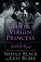Cover for 'Their Virgin Princess, Masters of Ménage, Book 4'