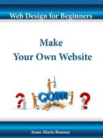 Cover for 'Web Design for Beginners - Make Your Own Website'